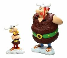 ASTERIX AND OBELIX in the Vikings 3.14-5.51 Inches Plastoy Resin Figures