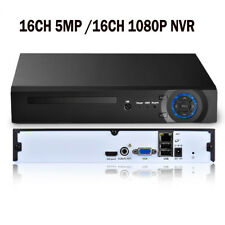 16CH 5MP/16CH 1080P H.265 HDMI VGA Output P2P XMEYE Network Security CCTV NVR