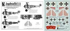 BLUE RIDER DECALS 1/48 Fokker Dr.I Jasta 11 Steinhauser (Luftstreitkräfte)