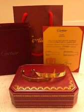 Cartier Yellow Gold Love Bracelet Size (18) - Read Description