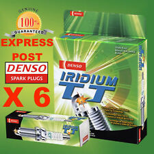 DENSO SPARK PLUG IKBH20TT X 6 - LEXUS GS250 GS300 GS450h IS250 IS350 LS460