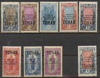 Lot France Chad 1924, M/U, 472
