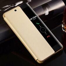 Para Samsung S20 Ultra Nota 10 Plus S9 S10 A71 Smart View Cuero Abatible Estuche Cubierta