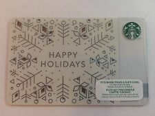 "STARBUCKS Gift Card☕️ ZERO $ BALANC ""HAPPY HOLIDAYS""  2014 Special Edition (CDN)"