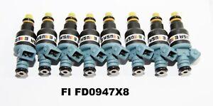 8  Pieces Fuel Injectors fit 91-97 Ford F/E Series 7.5L Mustang 5.0L 0280150947