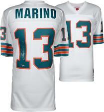 Dan Marino Miami Dolphins Autographed White Replica Mitchell & Ness Jersey