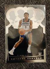 2020-21 Panini NBA Basketball Crown Royale Anthony Edwards base RC rookie #89