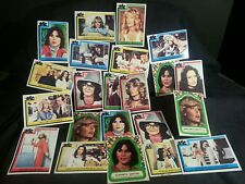 1977 Charlie's Angels trading cards  22# lot