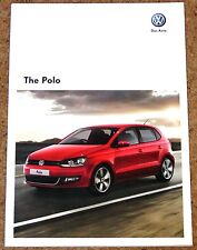 2010 VW POLO Sales Brochure - GTI Moda BlueMotion SEL SE S - Near Mint Condition