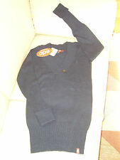 Esprit Long Strick Pullover EDC Mädchen Pulli Longsleeve blau Gr. XL 176 * NEU *