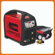 SALDATRICE INVERTER TELWIN TECHNOLOGY TIG 230 DC-HF/LIFT VRD CON ACCESSORI TIG