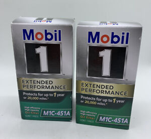 Engine Oil Filter Mobil 1 M1C-451A Extended Performance 2-Pack Free Shipping