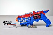 MMPR Power Rangers Dino Charge Morpher Titano Gun Blue Blaster