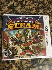 3DS Code Name S.T.E.A.M. Game |BRAND NEW SEALED Nintendo STEAM Free Ship