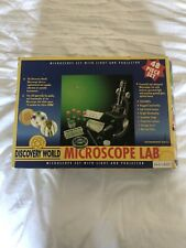 Discovery World Microscope Lab Set  EXCELLENT CONDITION, BARELY USED, Science