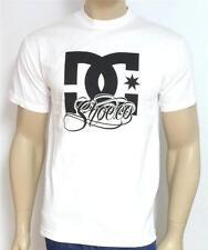 DC Shoes Big Star Script Tee Shirt Mens White T-Shirt New NWT