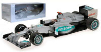 Minichamps Mercedes F1 W03 '300th GP' Belgium GP 2012 - Michael Schumacher 1/18