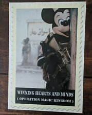 James Cauty Winning Hearts & Minds Op Magic Kingdom poster 50cm x 70cm 2007