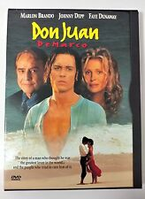 Video DVD - Don Juan de Marco - Dual Layer Disc Depp LIKE NEW (LN) WORLDWIDE