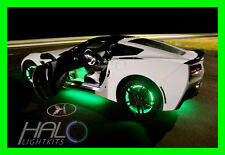 GREEN LED Wheel Lights Rim Lights Rings by ORACLE (Set of 4) for HUMMER MODELS
