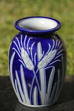 Vase grès au sel Alsace ancien Betschdorf Burger Antique French Ceramic Vase