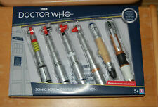 NEU: Doctor Who Sonic Screwdriver Collection 6 Stück