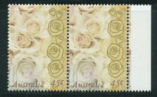 Australian Stamps: 1998 Greetings stamps - Champagne Roses - Pair