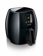 Philips Avance 2.65lb. XL Digital AirFryer with Recipe Book - Black