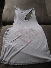 Roxy ladies racer back singlet - Grey with pattern, size M, Brand new, no tags!