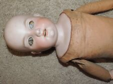 Armand Marseille AM 6 DEP 570 Antique Porcelain Doll / Leather Body