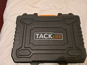 Plastic Tack Life Tool/Drill/Storage Box black orange builder