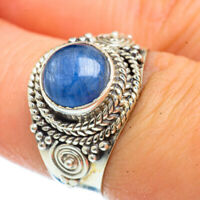 Kyanite 925 Sterling Silver Ring Size 7.5 Ana Co Jewelry R42614F