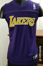 Los Angeles Lakers Reversible Basketball Practice Purple Gold Jersey 42 Youth M