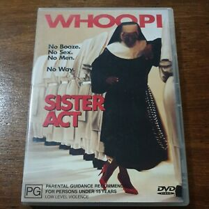 Sister Act DVD R4 Like New! FREE POST