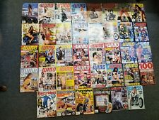 Lot of 38 In The Wind & Easyriders Magazines 90's - 2000's Motorcycle Biker