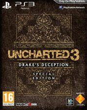 Uncharted 3 - L'inganno di Drake - Special Edition (ITA) PS3 - totalmente in ita