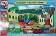 * Thomas & Friends Trackmaster Thomas at Tidmouth Sheds Set Rare Toys 3+ Gift *