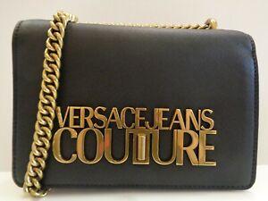 Versace Jeans Couture Gold Logo Bag Ladies Ref BAG461^