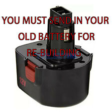 we Rebuild For Alemite 340911 12 Volt 3.0 Battery YOU MUST SHIP US YOUR BATTERY