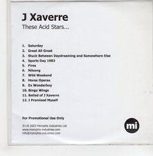 (GH700) J Xaverre, These Acid Stars - 2003 DJ CD