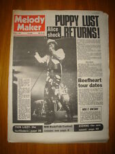 MELODY MAKER 1973 MAR 3 ALICE COOPER OSMONDS THIN LIZZY