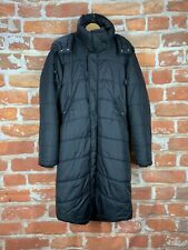 $669 DIESEL XL Quilted Black Puffer Arctic Hooded Trench Parka Jacket