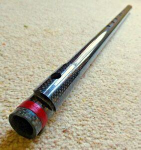 Carbon Fiber G Bansuri Flute (63cm) (Western Equal Temperament tuning)