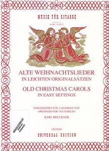 Noten gebraucht Alte Weihnachtslieder 3 Gitarren UE 18969 ISBN 978-3-7024-2681-1