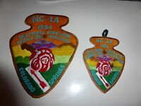 NC-1A 1984 Sectional Conclave WWW Order of Arrow Large Patch Colorado Springs OA