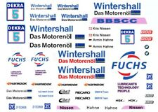 #5 Kris Nissen WINTERSHALL FUCHS BMW DTM   1/24th - 1/25th Waterslide Decals