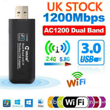 More details for 1200mbps 5ghz usb 3.0 wireless wifi network receiver adapter dual band dongle