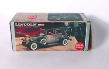 Lincoln 1928 model L convertible Solid State Radio VTG Collectible auto car room