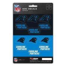 Carolina Panthers Set Of 12 Vinyl Sticker Decal Sheet