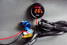 Digital Motorrad PKW Öl Wasser Thermometer Temperatur Anzeige + Adapterschraube